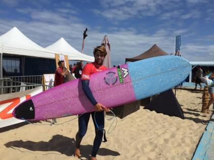 Surf : une bonne saison pour Robin Henry