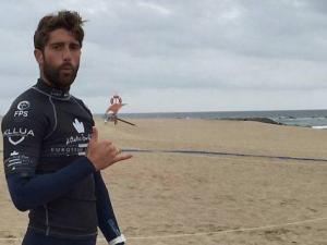 Le surfeur Robin Henry cinquième au Portugal